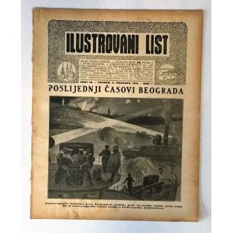 ILUSTROVANI LIST : ČASOPIS 1914. BROJ 49