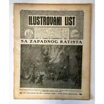 ILUSTROVANI LIST : ČASOPIS 1914. BROJ 48
