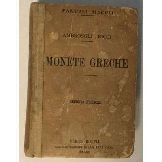 AMBROSOLI - RICCI : MONETE GRECHE