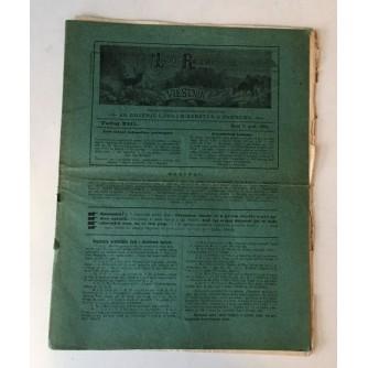 LOVAČKO RIBARSKI VIESTNIK  BROJ 7 GODINA 1904.