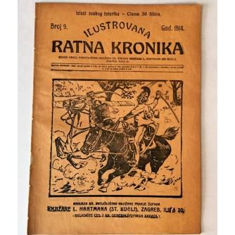 ILUSTROVANA RATNA KRONIKA : 1914. BROJ 9.