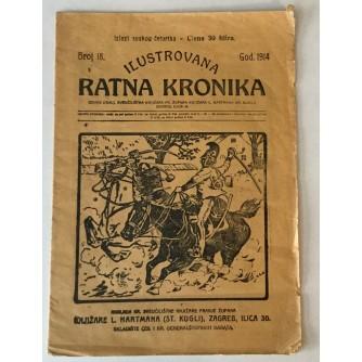 ILUSTROVANA RATNA KRONIKA : 1914. BROJ 18.