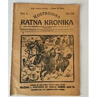 ILUSTROVANA RATNA KRONIKA : 1915. BROJ 6.