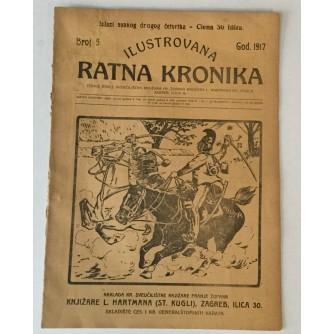 ILUSTROVANA RATNA KRONIKA : 1917. BROJ 5.