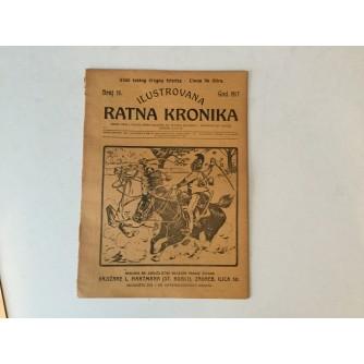 ILUSTROVANA RATNA KRONIKA : 1917. BROJ 16.