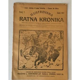ILUSTROVANA RATNA KRONIKA : 1917. BROJ 7.