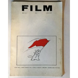 FILM  ČASOPIS BROJ 5-6-7  1976.