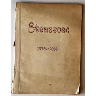 STENJEVEC : DRŽAVNA BOLNICA ZA DUŠEVNE BOLESTI 1879-1933.