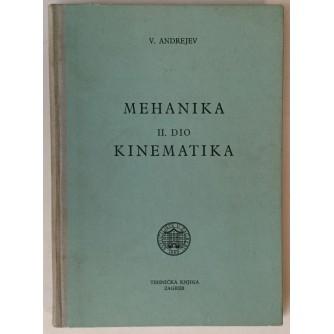 ANDREJEV : MEHANIKA  KINEMATIKA II.DIO