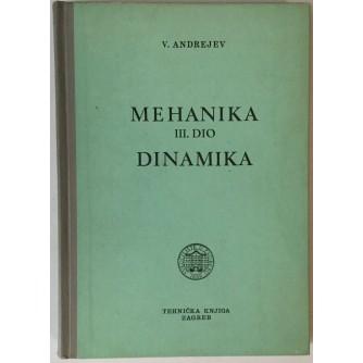 ANDREJEV : MEHANIKA  DINAMIKA  III.DIO