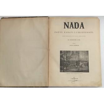 NADA ČASOPIS  : UKORIČENO II. GODIŠTE 1896.