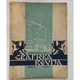 GRAFIČKA REVIJA 1939. BROJ 3