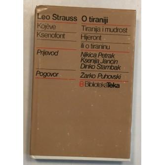 STRAUSS LEO : O TIRANIJI