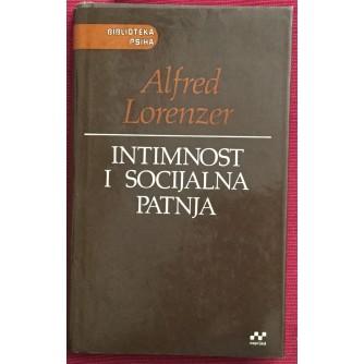 ALFRED LORENZER :  INTIMNOST I SOCIJALNA PATNJA