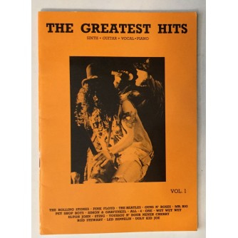 THE GREATEST HITS, SINTH, GUITAR, VOCAL, PIANO, VOL.1