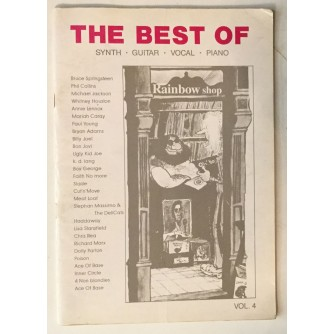 THE BEST OF, SYNTH, GUITAR, VOCAL, PIANO, VOL. 4