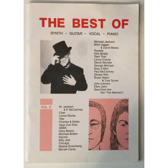 THE BEST OF, SYNTH, GUITAR, VOCAL, PIANO, VOL. 6
