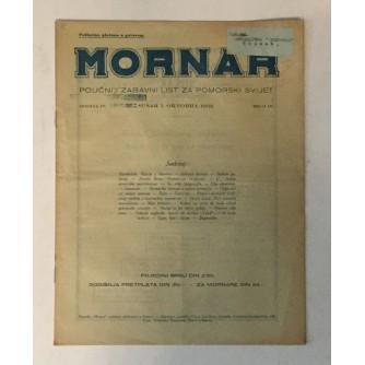 MORNAR, ČASOPIS BROJ 10, GODINA 1932.