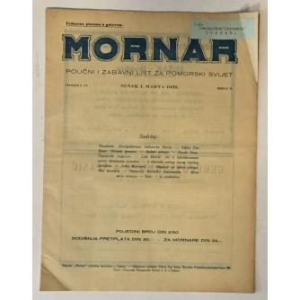 MORNAR, ČASOPIS BROJ 3, GODINA 1932.