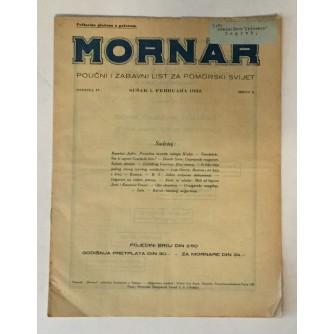 MORNAR, ČASOPIS BROJ 2, GODINA 1932.
