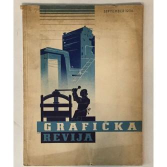 GRAFIČKA REVIJA, ČASOPIS  BROJ 2, GODINA 1932.
