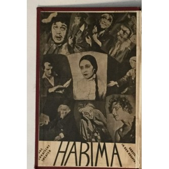 HABIMA, HEBRAISCHES MOSKAUER THEATER, ALBUM SA POTPISIMA GLUMACA
