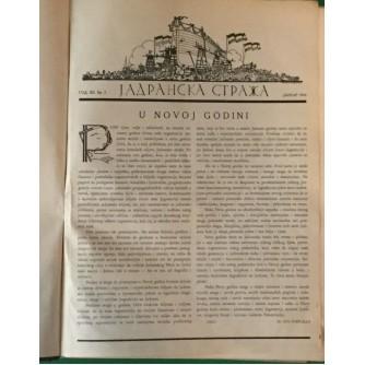 JADRANSKA STRAŽA ČASOPIS GODINA 1934.