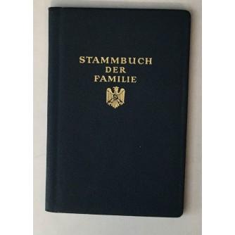STAMMBUCH DER FAMILIE , DOKUMENT, SLOVENIJA TRBOVLJE
