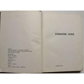 ZABAVNE IGRE,  ZAGREB 1967.