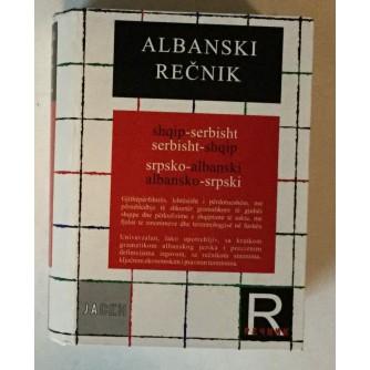ALBANSKI REČNIK : SRPSKO ALBANSKI I ALBANSKO SRPSKI RJEČNIK
