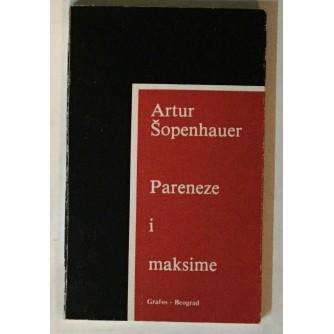 ŠOPENHAUER ARTUR : PARENZE I MAKSIME