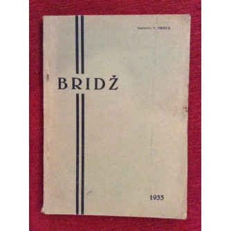 VRBICA,   BRIDŽ,  OSNOVI SAVREMENE LICITACIJE, 1933.