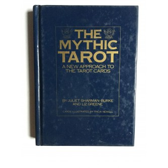 THE MYTHIC TAROT,  BY:  JULIET SHARMAN - BURKE  AND LIZ GREENE, 1995.
