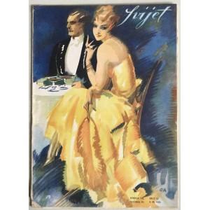 """STARI ČASOPIS """"SVIJET"""", KNJIGA VII. 1929, GODINA IV. BROJ 11"""