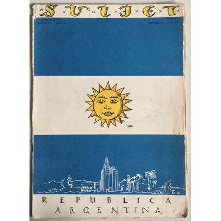 """STARI ČASOPIS """"SVIJET"""", KNJIGA VII. 1929, GODINA IV. BROJ 18, REPUBLICA ARGENTINA"""