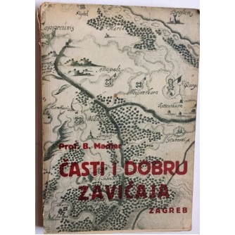 BLAŽ MADJER,  ČASTI I DOBRU ZAVIČAJA, 1937.