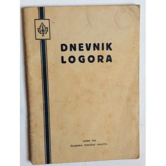 DNEVNIK LOGORA,  SKAUTI, IZVIĐAČI,  1956.