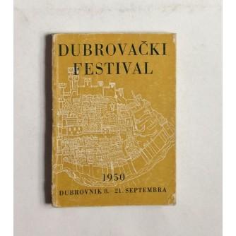 DUBROVAČKI FESTIVAL, VODIČ, 1950.