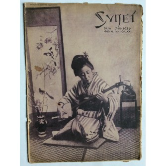 SVIJET, STARI ČASOPIS, GODINA XI, 1936. KNJIGA 21, BROJ 10
