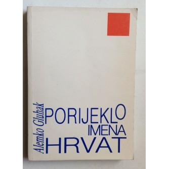 ALEMKO GLUHAK, PORIJEKLO IMENA HRVAT, ZAGREB, 1990