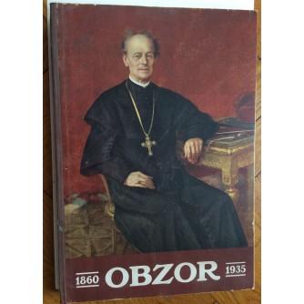 OBZOR, SPOMEN KNJIGA 1860-1935