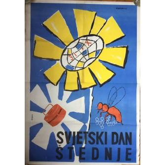 SVJETSKI DAN ŠTEDNJE, ROZMAN VLATKO, 1961, SARAJEVO