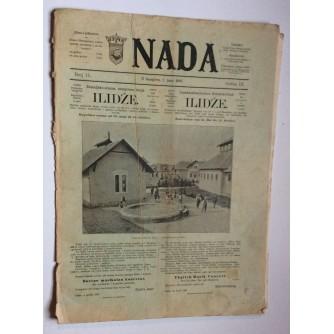 NADA, ČASOPIS, 18971.BROJ 11, BOSNA