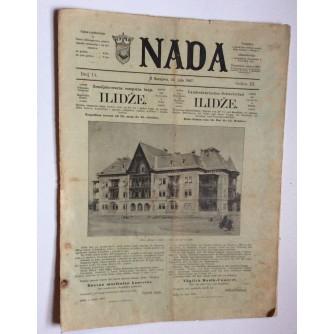 NADA, ČASOPIS, 1897.  BROJ 14, BOSNA
