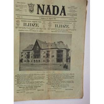 NADA, ČASOPIS, 1897.   BROJ 16, BOSNA