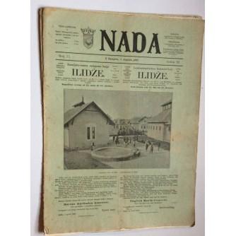 NADA, ČASOPIS, 1897.  BROJ 15, BOSNA