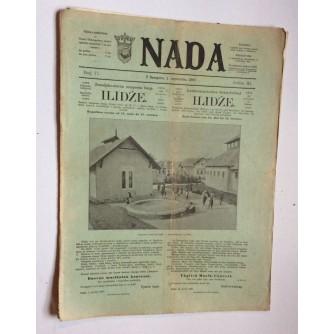 NADA, ČASOPIS, 1897.  BROJ 17, BOSNA