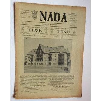 NADA, ČASOPIS, 1896 .BROJ 19, BOSNA