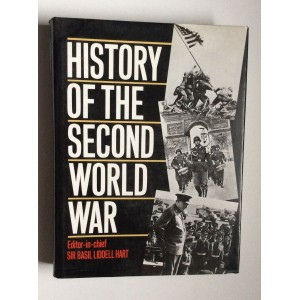 SIR BASIL LIDDELL HART,  HISTORY OF THE SECON WORLD WAR, 1898.