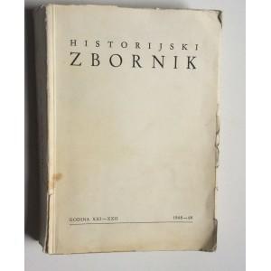 HISTORIJSKI ZBORNIK, 1968/9.